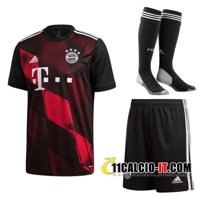 Personalizza Kit Maglia Calcio Bayern Monaco Terza (Pantaloncini ...