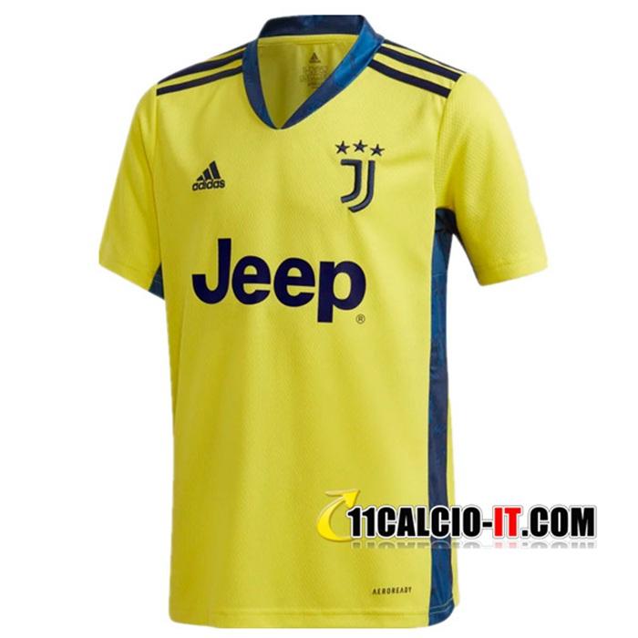 Collezionisti Maglia Calcio Juventus Portiere Giallo 2020/2021