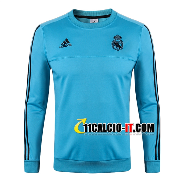 Felpa da Training Real Madrid Blu 2017/2018 | 11calcio-it