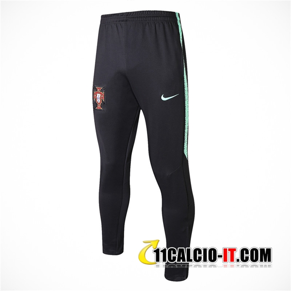 Pantaloni da training Portogallo Nero 2018-2019 | 11calcio-it