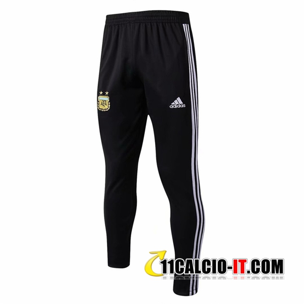 Pantaloni da training Argentina Nero 2018-2019 | 11calcio-it