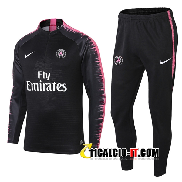 Tuta Calcio PSG Nero/Rose 2018-2019 | 11calcio-it