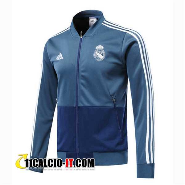 Giacca Calcio Real Madrid Blu scuro 2018-2019 | 11calcio-it