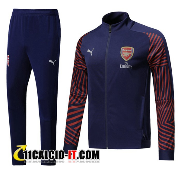 Tuta Calcio - Giacca Arsenal Blu scuro 2018-2019 | 11calcio-it