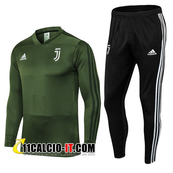 Tuta Calcio Juventus Verde militare 2018-2019 | 11calcio-it