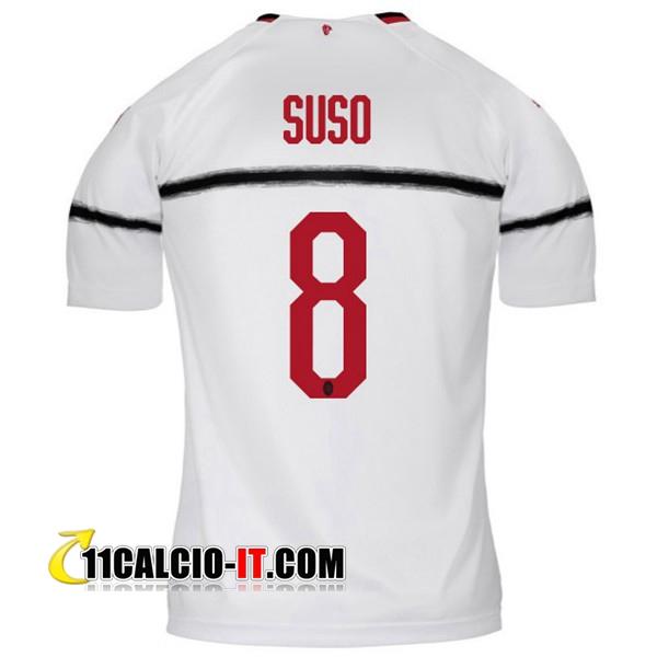 Nuove Seconda Maglia AC Milan (SUSO 8) 2018/19 | personalizzata