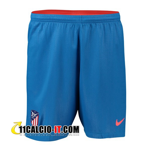 Seconda Pantaloncini Calcio Atletico Madrid 2018-19 | 11calcio-it