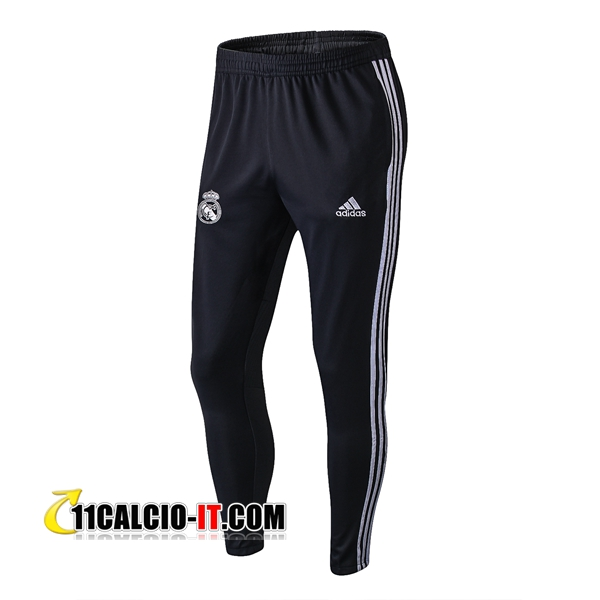 Pantaloni da training Real Madrid Nero 2018-2019 | 11calcio-it