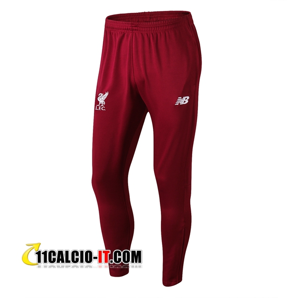 Pantaloni da training FC Liverpool Rosso 2018-2019 | 11calcio-it