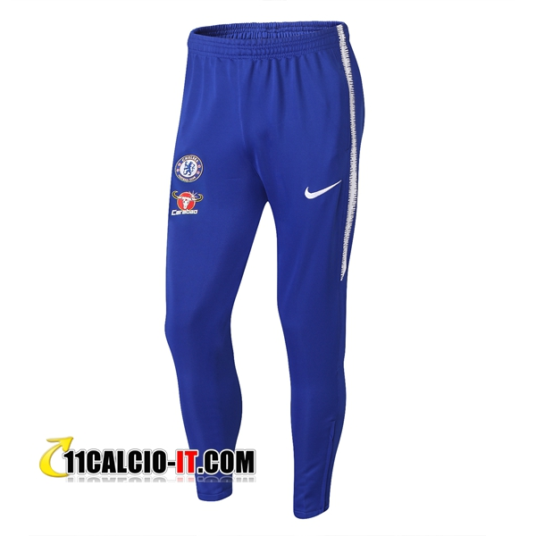 Pantaloni da training FC Chelsea Blu 2018-2019 | 11calcio-it