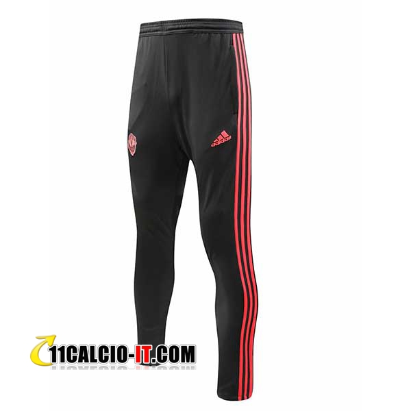 Pantaloni da training Manchester United Nero 2018-2019 | 11calcio-it