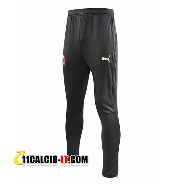 Pantaloni da training AC Milan Nero 2018-2019 | 11calcio-it