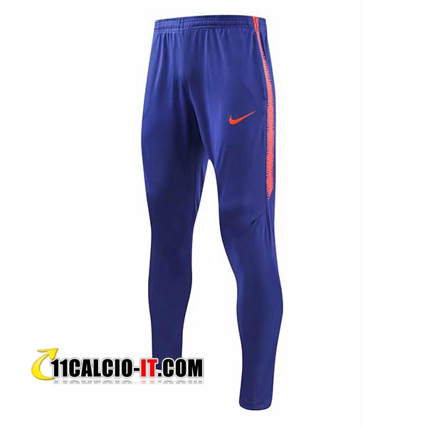 Pantaloni da training Atletico Madrid Blu 2018-2019 | 11calcio-it