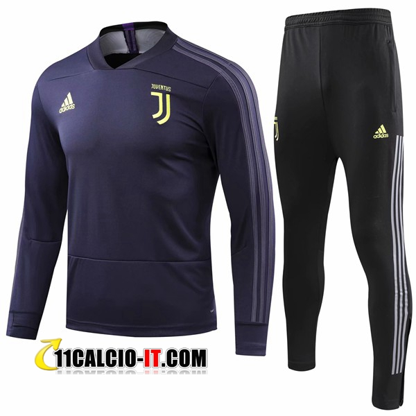 Tuta Calcio Juventus Blu scuro 2018-2019 | 11calcio-it