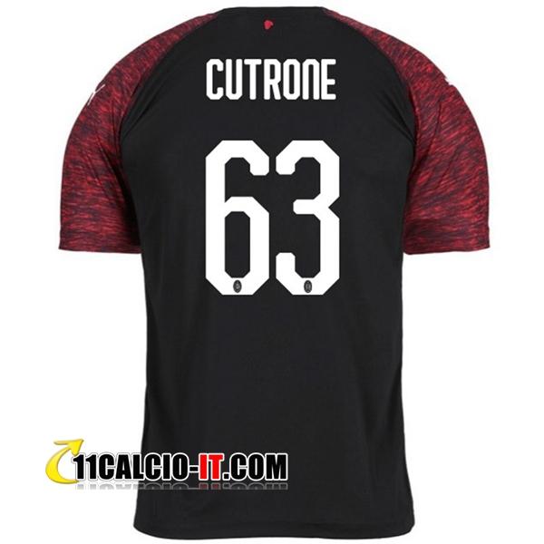 Nuova Terza Maglia AC Milan (CUTRONE 63) 2018/19 | personalizzare