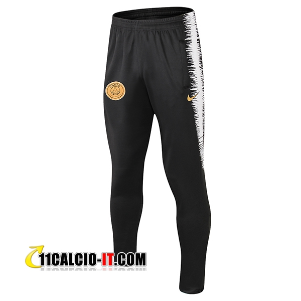 Pantaloni da training PSG Nero/Bianco Strike Drill 2018-2019 | 11calcio-it