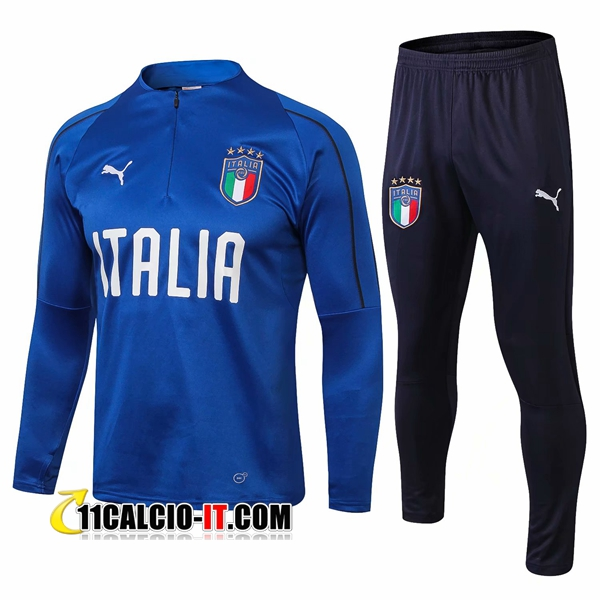 Tuta Calcio Italia Blu 2018-2019 | 11calcio-it
