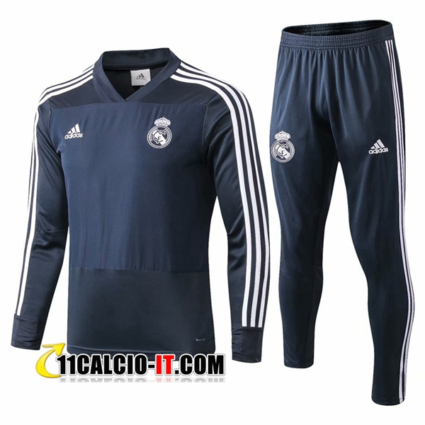 Tuta Calcio Real Madrid Blu scuro 2018-2019 | 11calcio-it