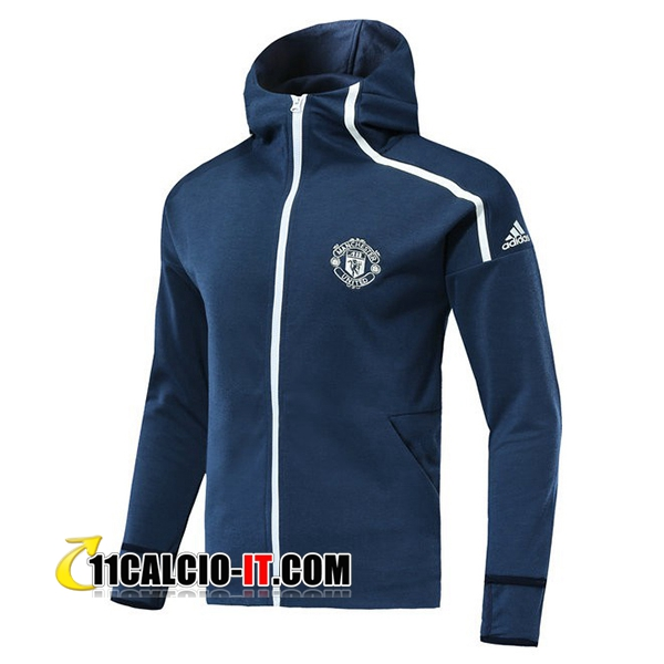 Giacca a vento Manchester United Blu 2018-2019 | 11calcio-it