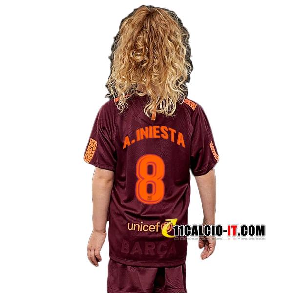 Seconda Maglia FC Barcelona Bambino