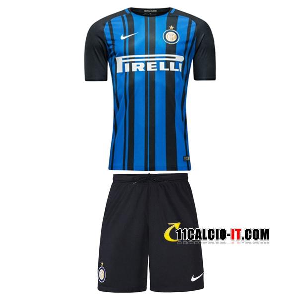 Nuove Prima Maglia Inter Milan Bambino 2017/18 | personalizzate