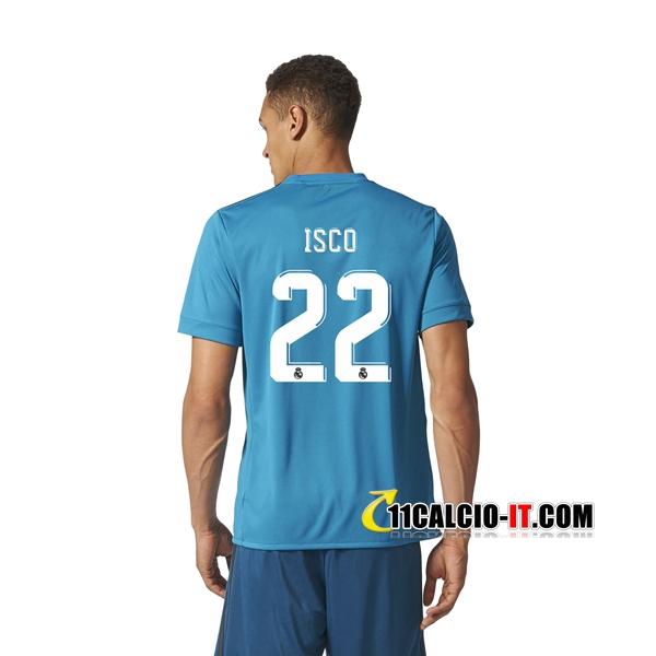 Nuova Terza Maglia Real Madrid (ISCO 22) 2017/18 | personalizzare