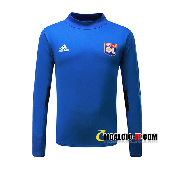 Felpa da training Lyon OL Blu 2017-18 | 11calcio-it