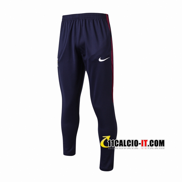 Pantaloni da training Manchester City Nero 2017-18 | 11calcio-it