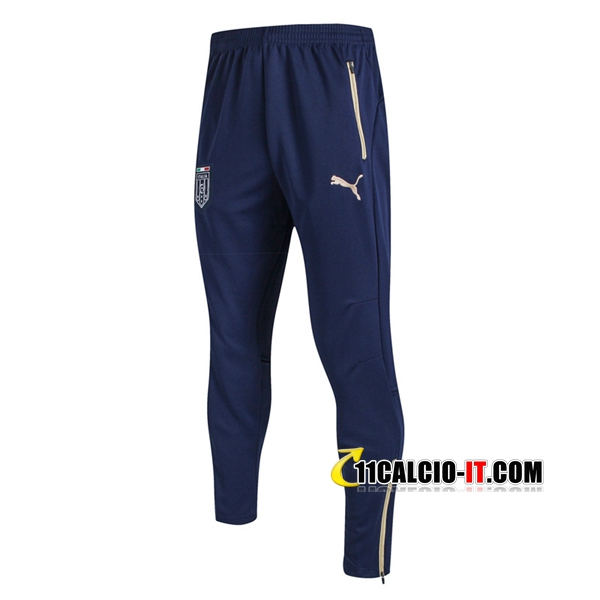 Pantaloni da training Italia Blu 2017-18 | 11calcio-it