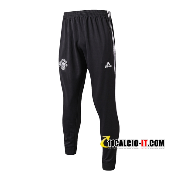 Pantaloni da training Manchester United Nero 2017-18 | 11calcio-it
