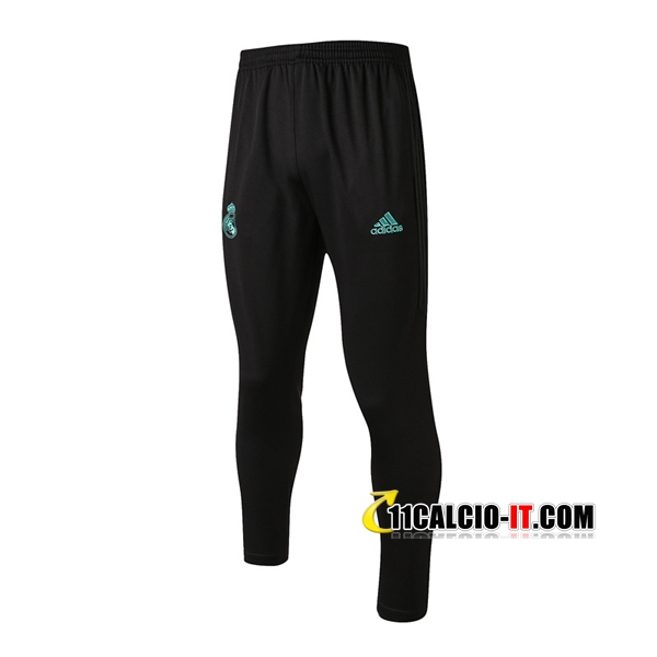 Pantaloni da training Real Madrid Nero 2017-18 | 11calcio-it
