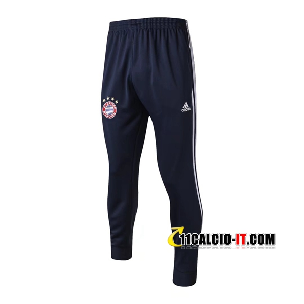 Pantaloni da training Bayern Monaco Blu Marino 2017-18 | 11calcio-it