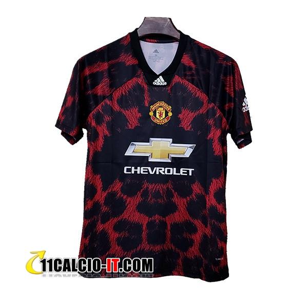 Nuove Maglia Calcio Manchester United Adidas X EA Sports Rosso ...