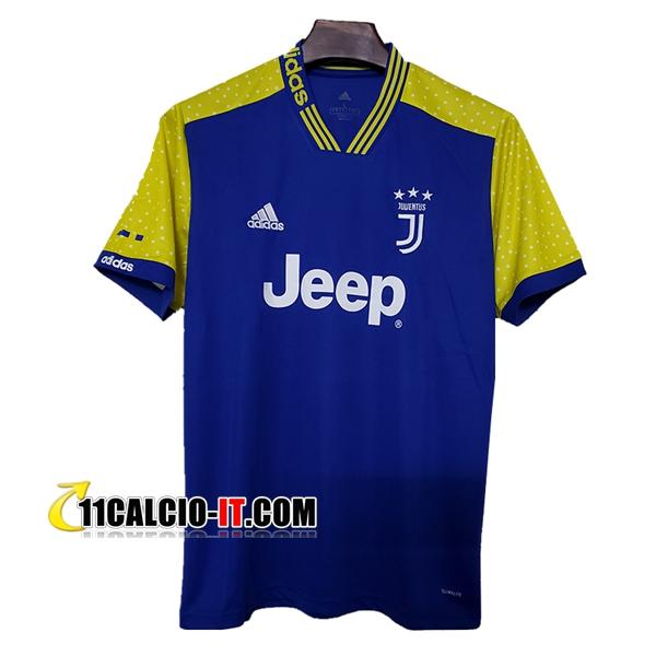Nuove Maglia Calcio Juventus Concetto Blu/Giallo 2019/20 | Tailandia
