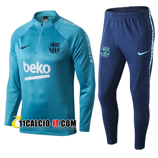 Tuta Calcio FC Barcellona Blu 2019-2020 | 11calcio-it