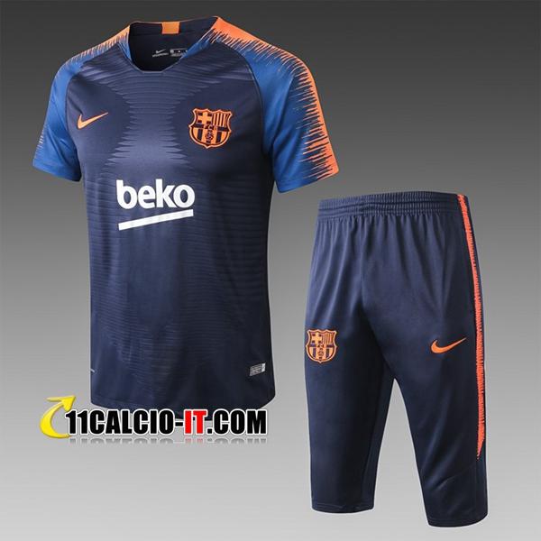 Nuove Pre-partita T Shirt Allenamento FC Barcellona Pantaloni 3 ...
