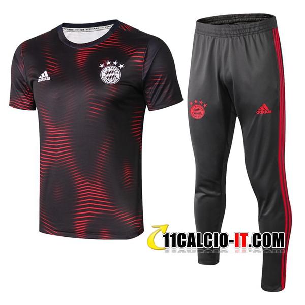 Nuove Pre-partita Kit Maglia Allenamento Bayern Monaco Pantaloni ...