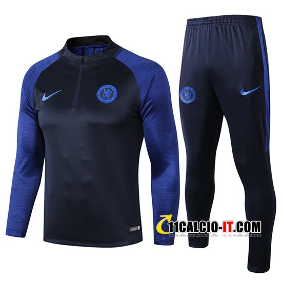 Tuta Calcio FC Chelsea Blu Scuro 2019-2020 | 11calcio-it
