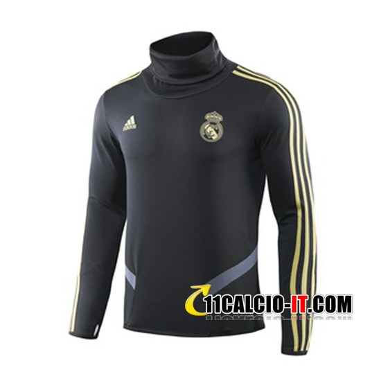 Felpa da training Real Madrid Nero 2019-2020 | 11calcio-it