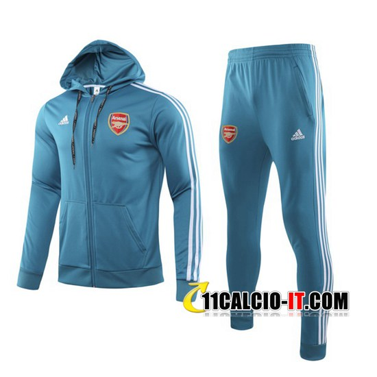 Tuta Calcio Arsenal Blu 2019-2020 | 11calcio-it