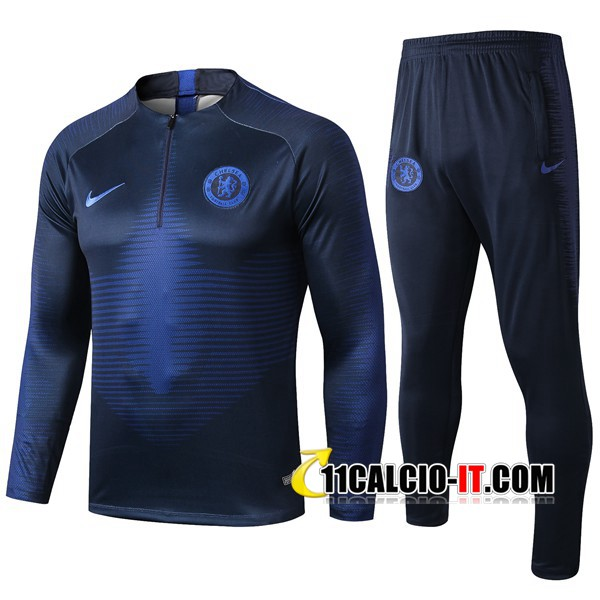 Tuta Calcio FC Chelsea Blu Reale 2019-2020 | 11calcio-it