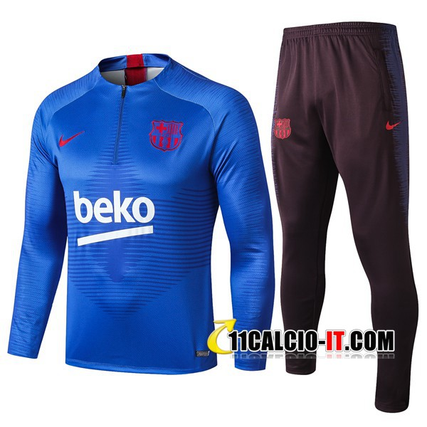 Tuta Calcio FC Barcellona Beko Blu 2019-2020 | 11calcio-it