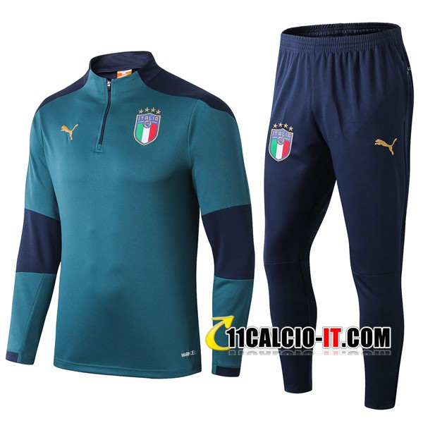 Tuta Calcio Italia Verde 2019-2020 | 11calcio-it
