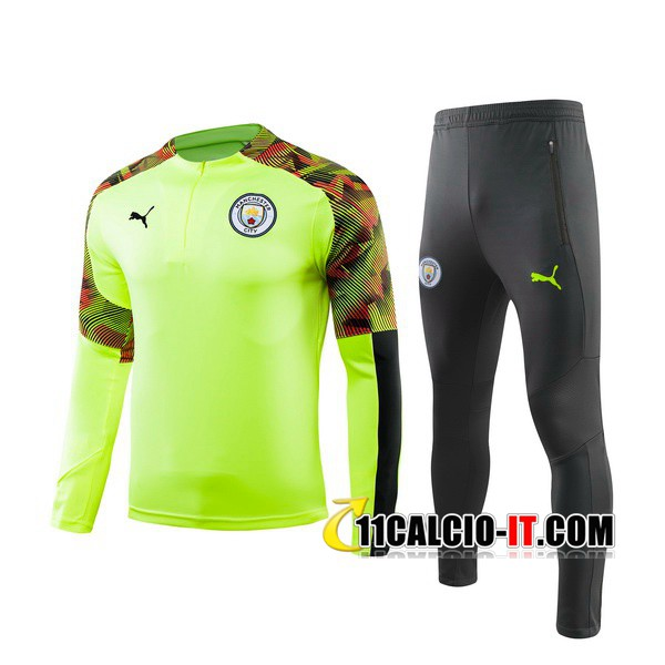 Tuta Calcio Manchester City Verde 2019-2020 | 11calcio-it