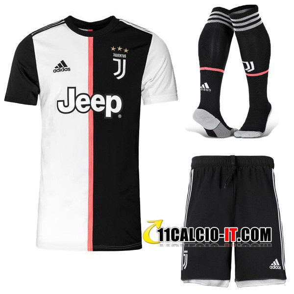 Nuove Kit Maglia Calcio Juventus Prima Calzettoni 2019/20 ...