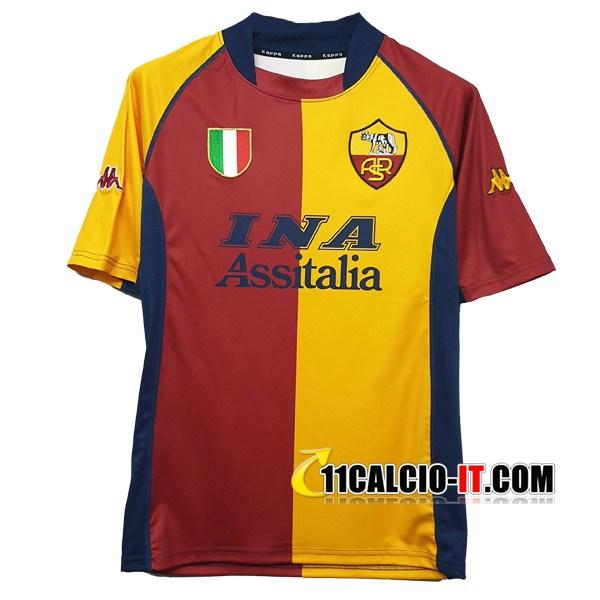 Maglia Calcio AS Roma Prima 2001/2002