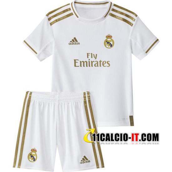 Nuove Maglia Calcio Real Madrid Bambino Prima 2019/20 | Tailandia