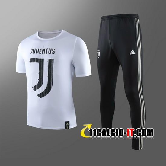 Nuove Kit Maglia Allenamento Juventus Bambino Pantaloni Nero ...