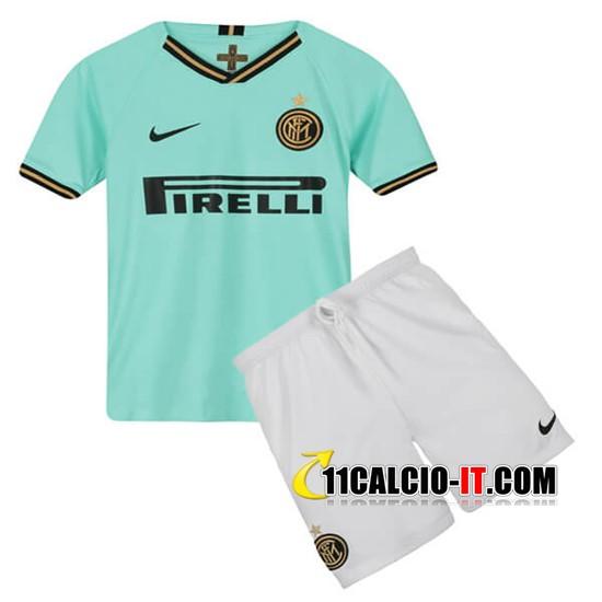 Nuove Maglia Calcio Inter Milan Bambino Seconda 2019/20 | Tailandia
