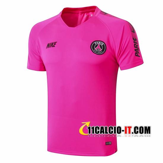 Nuove T Shirt Allenamento PSG Rosa 2019/20 | Tailandia